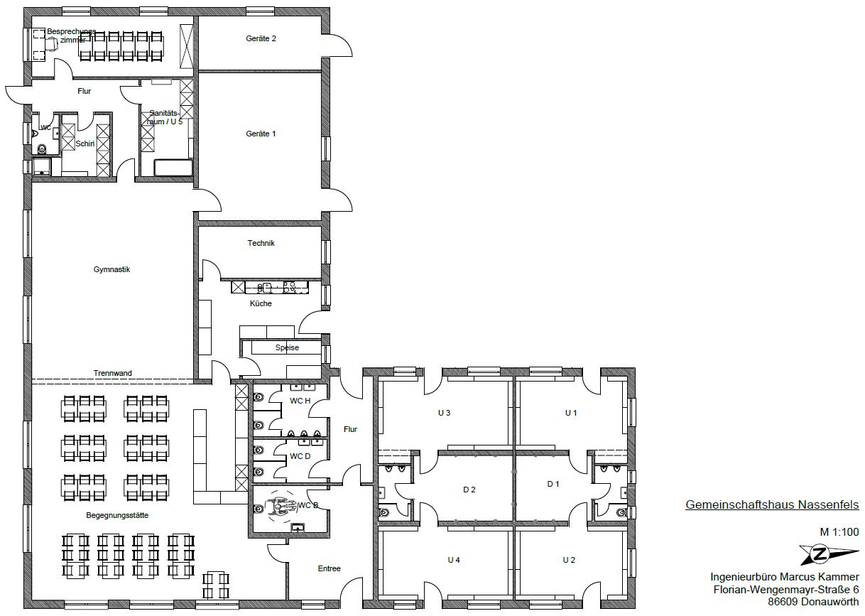 Plan Gemeinschaftshaus